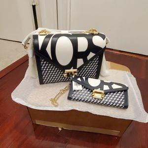 NWT Michael Kors Whitney Large Handbag & Wallet
